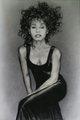 Whitney Houston Drawing - whitney-houston fan art