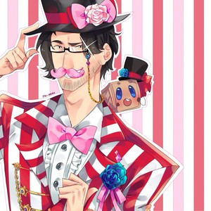 Wilford Warfstache and Tiny Box Tim