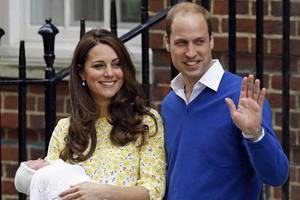 Wills And Kate With Princess 샬럿, 샬 롯