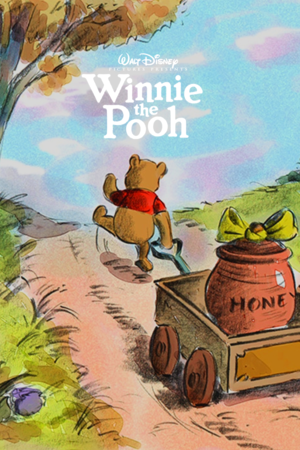 Winnie the Pooh Concept Art Poster