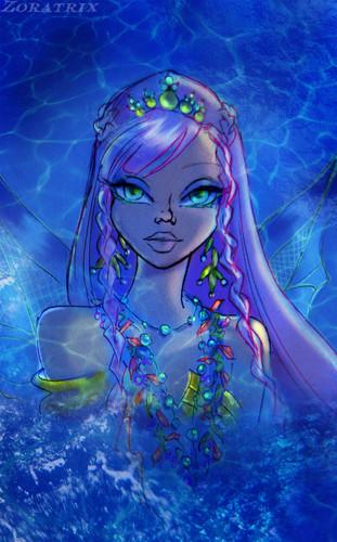 The Winx Club wallpaper titled Winx Mermaids (Nesia)