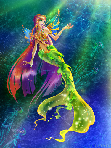 The Winx Club achtergrond entitled Winx Mermaids