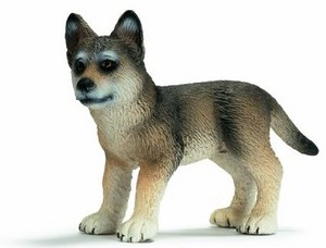 wolf pup figure