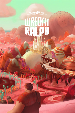 Wreck-It Ralph Concept Art Poster
