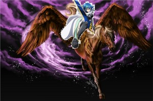 Xenovia: The strong, and beautiful Christian Pegasus Rider