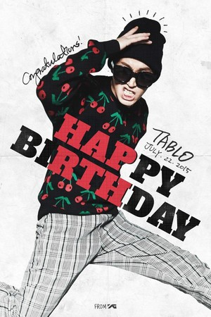 YG wishes Tablo a happy birthday!