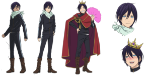 Yato's Character डिज़ाइन