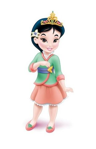 putri disney wallpaper entitled Young mulan