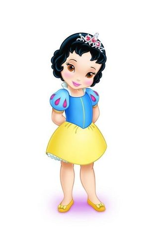 Disney Princess wallpaper entitled Young Snow White
