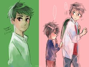 Young Tadashi and hiro