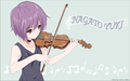 Yuki Playing Violin
