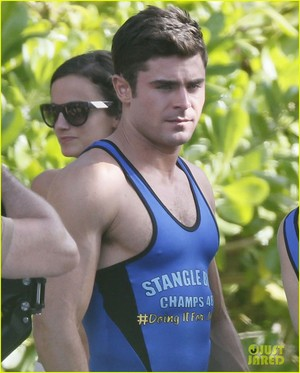 Zac Efron Leaves Little to the Imagination in Skintight Onesie