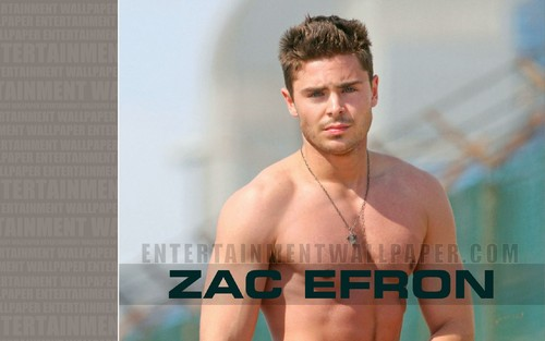 Zac Efron wallpaper probably containing skin and a portrait called Zac Efron