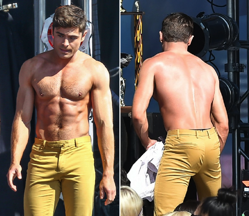 Zac Efron wallpaper containing a pezzo, hunk called Zac Efron