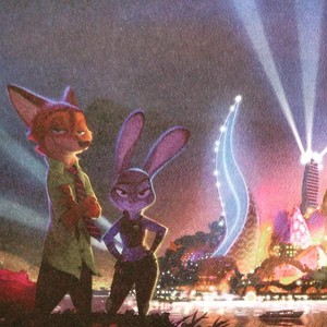 Zootopia Concept Art - Nick and Judy