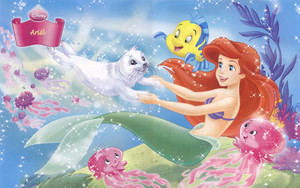 ariel with Friends