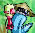 check it out. - invader-zim fan art