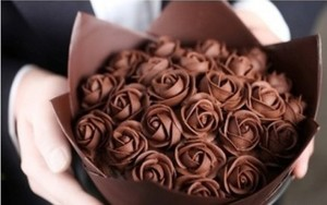 chocolate rosas ~