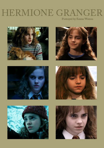 hermione granger wallpaper with a portrait titled hermione
