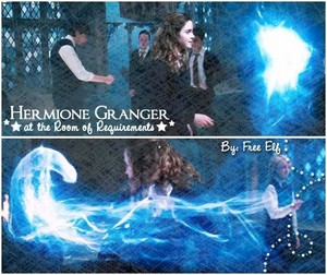 hermione in room of requirement