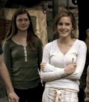 hermione smiling