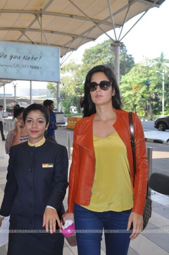 Katrina Kaif wallpaper with a strada, via titled katrina-kaif-was-snapped-at-airport-while-leaving-for-arpita