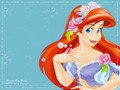 mermaid - ariel wallpaper