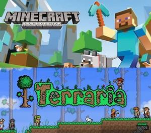 마인크래프트 vs terraria