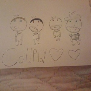 my coldplay drawing