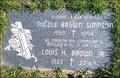 nicole brown simpson grave