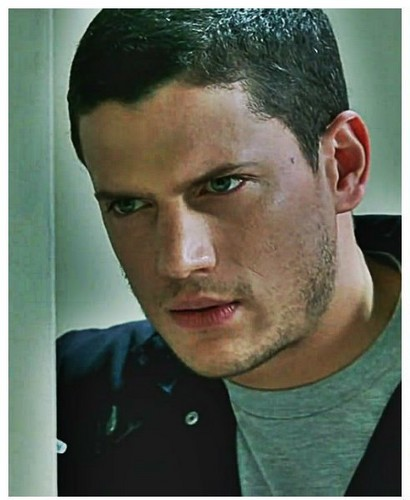 Wentworth Miller Hintergrund containing a portrait titled prison break-michael scofield