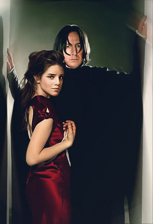snape and hermione