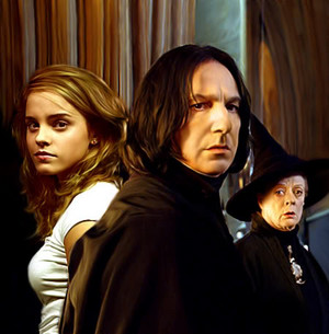 snape minerva and hermione
