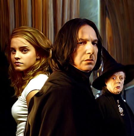 snape minerva and hermione