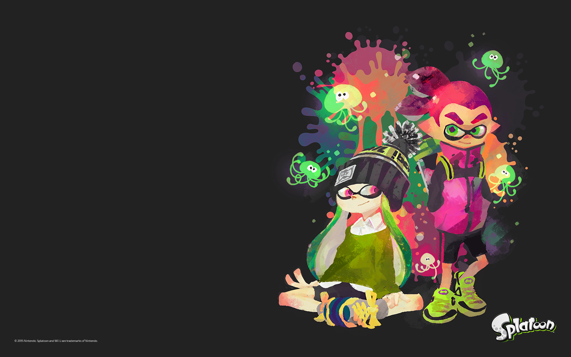 Splatoon Comics Images Two Inklings Hd Wallpaper And