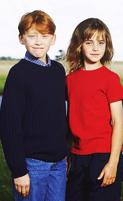 young Emma and Rupert
