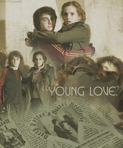 hermione granger fondo de pantalla containing a newspaper entitled young amor
