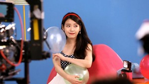 [CAP] DigiCable TV CF Making with IU