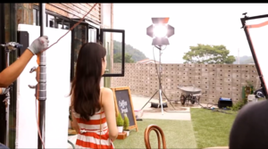 [CAP] iu for Cable TV CF Making