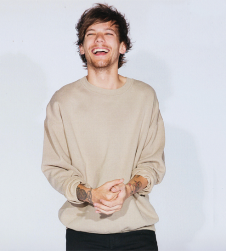 Louis Tomlinson kertas dinding possibly with a baju panas, sweatshirt entitled Calendar 2016