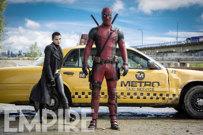 'Deadpool' (2016) Promotional fotografia for Empire Magazine