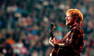 Ed konzert at Croke Park