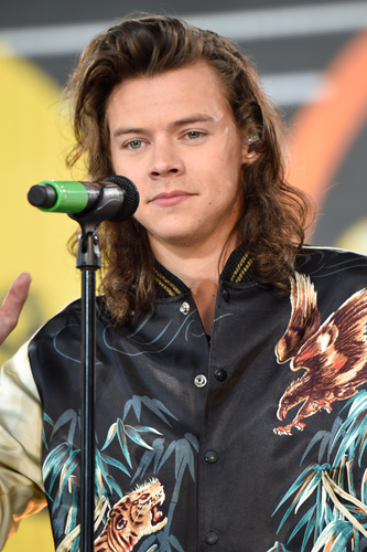 Harry Styles fond d'écran entitled GMA concert