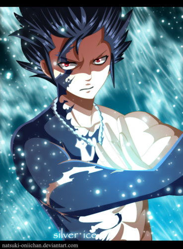 Fairy Tail wallpaper containing anime entitled *Gray Fullbuster : Ice Devil Slayer*
