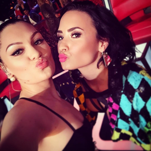 Jessie J and Demi
