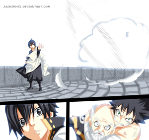 *Mest Saves Makarov from Zeref*
