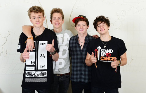 The Vamps wallpaper entitled  Stand Up To Cancer