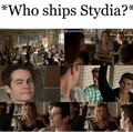 ;) everyone ships stydia, well most everyone - teen-wolf photo