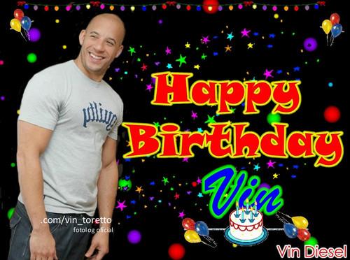 vin diesel birthday Vin Diesel images Happy Birthday, Vin! wallpaper and background  vin diesel birthday