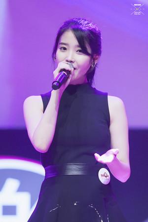 140624 IU at Samsung Passion Talk concert